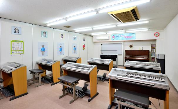 HWTVC音楽教室内